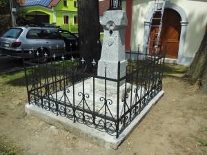 Kovaný plot po repasi - Kejnice